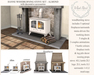 {what next}Hanne Woodburning Stove Set - Almond