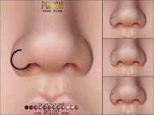 PUNCH / Nose Ring ♥ {Mesh}