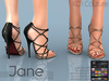 -KC- JANE HEELS / SLINK MAITREYA BELLEZA LEGACY EVE