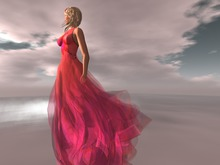 Paris METRO Couture: Coral Sumi II Pink w/ Appliers+Shoes