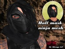 Half mask ninja