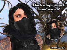 Ninja Mask with scarf