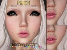 PUNCH / Dimple Piercing / DIAMONDS ♥ {Mesh}