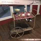 Jian :: Holiday Serving Cart