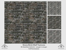 PennyStock - Stone Brick Wall Texture Pack