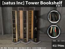 [satus Inc] Tower Bookshelf (5 in 1)