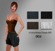 """DEW"" OUTLET/ Baloon short (Multi texture)"
