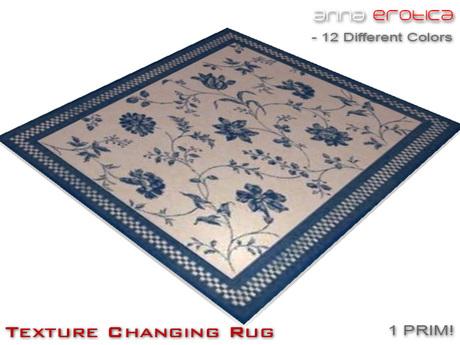 Anna Erotica - Texture Changing Rug - 1 Prim!
