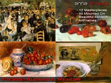 Anna Erotica - Pierre Auguste Renoir - 12 Masterpieces!