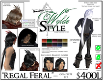 -Regal Feral- A Wylde Style by Khyle Sion at ~Refined Wild~