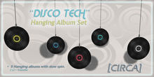 "[CIRCA] - ""Disco Tech"" - Hanging Album Set"