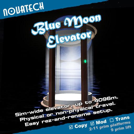 Elevator, Blue Moon Lift