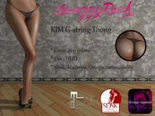 [SR] KIM G-string Lace Thong - Slink Maitreya Omega