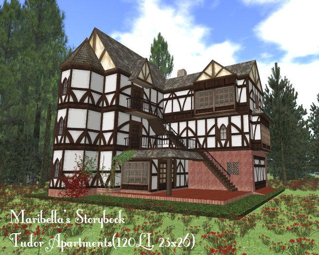 Maribella's Storybook Tudor Apartments(120, 23x26)