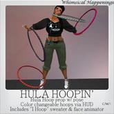 [Pose/Prop] - Hula Hoopin' w/ Color HUD