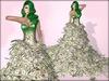 Boudoir-Dress of a Million Dollars $ $ $