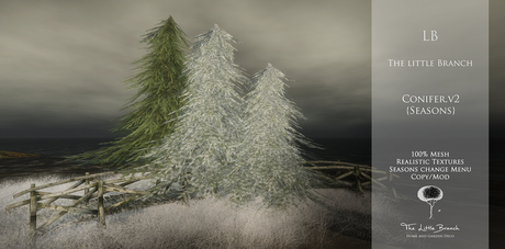 LB Conifer v2 Animated 4 Seasons
