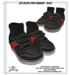 .:ZiSP:. ZKS Velcro Strap Sneakers (Black) - KiDS Fitmesh