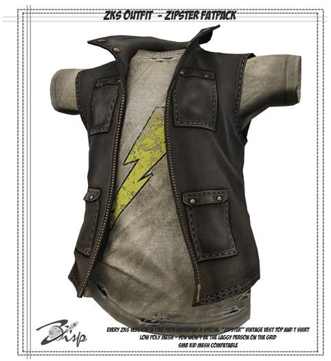 .:ZiSP:. ZKS Zipster Fatpack - Kids Fitmesh