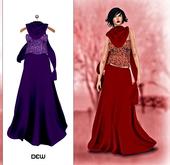 """""""DEW"""" OUTLET /Sienna purple"""