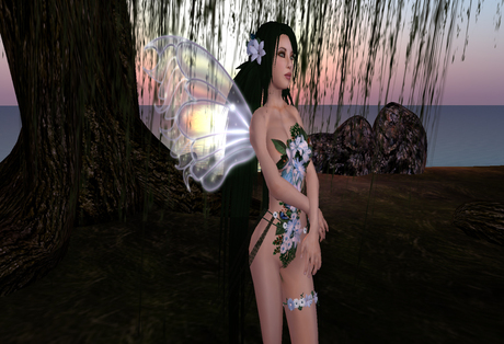 [Wishbox] *FREE* Dusk Fairy Wings Fae Fantasy Promo