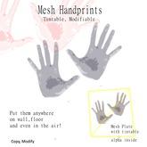 Mesh Handprint
