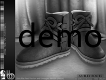 Bens Boutique - Ashley Boots (Slink Flat&Unrigged) - Demo