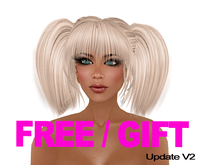 "GIFT Woman hair "" Joop "" blonde hair GAGA FREE FREEBIE Girl hair ponytail PROMO hair blonde haare pelo rubio Zopf"
