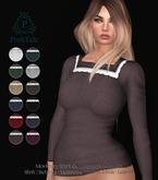.PoshTale. Modest Top [Square neck] ( 12 colours : Slink + Belleza + Maitreya + Omega/Lolas + TMP )