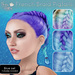 (NO) French Braid Pigtails - Blues