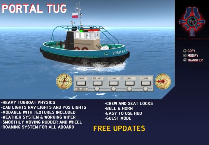 <A-T> Portal Tug