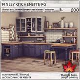Trompe Loeil - Finley Kitchenette PG V1.1 [mesh]