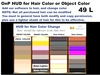 Buy onp hud for hair and object color change