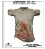 .:ZiSP:. ZKS Zombie Hunter T-Shirt (Grey) KiDS Fitmesh