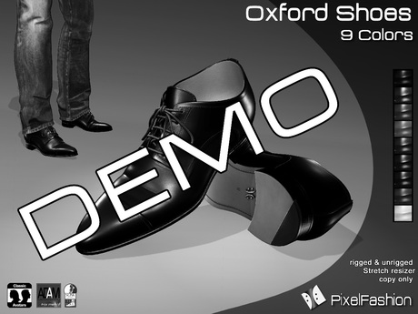 :)(: DEMO Oxford Shoes V2 - All Colors