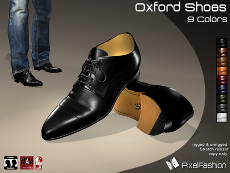 :)(: Oxford Shoes V2 - All Colors