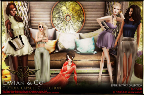 [LaVian&C0] Claudia Collection Fatpack