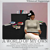 [Home Goods] - A World Of My Own Chair w/ HUD