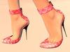 Paris METRO Couture: Mon Amour-Pink Quilt Belleza & Slink Mesh Shoes