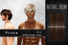 Uw.st   Prince-Hair  Natural brown