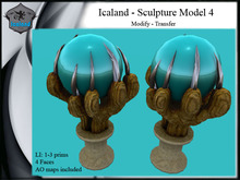 Icaland - Sculpture Model 4