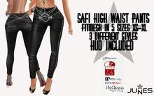 JUNES Safi High Waist Pants with HUD