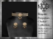 [MUSE] Royale Perpetua Choker - Sun Quartz pk hud