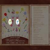 Secret Store - Wild Flowers - Blue/Green Table Set