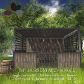 [sf] horse stall - single - boxed