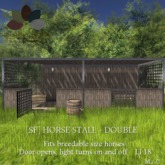 [sf] horse stall - double stall