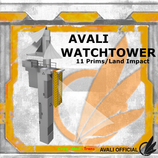 Second Life Marketplace Avali Watch Tower