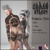 **UrbanStreet**Prophecies Tattoo
