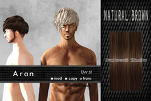 Uw.st Aran-Hair Natural brown