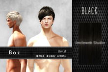 Uw.st   Boz-Hair  Black